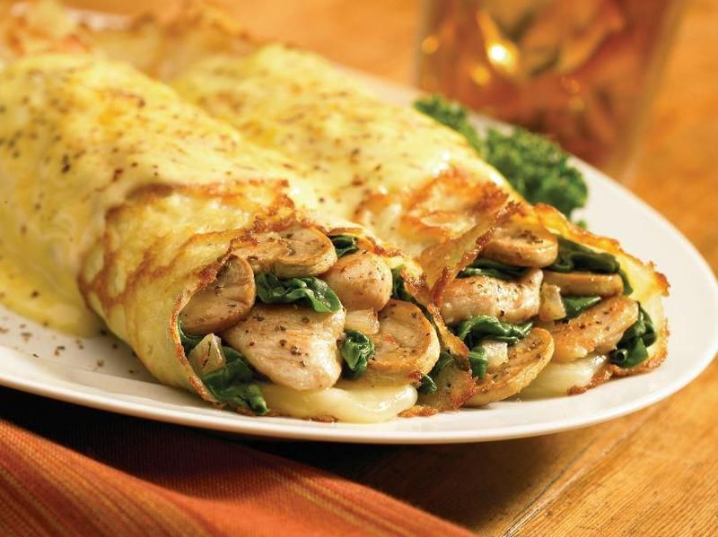 what to serve with chicken crepes