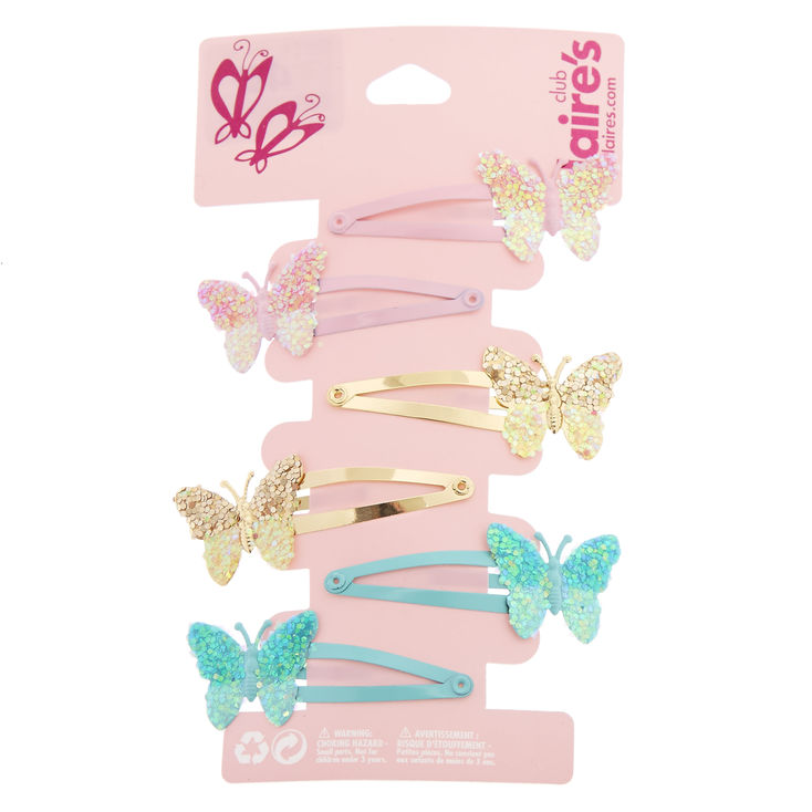 Butterly Hair Clips 24 Pack