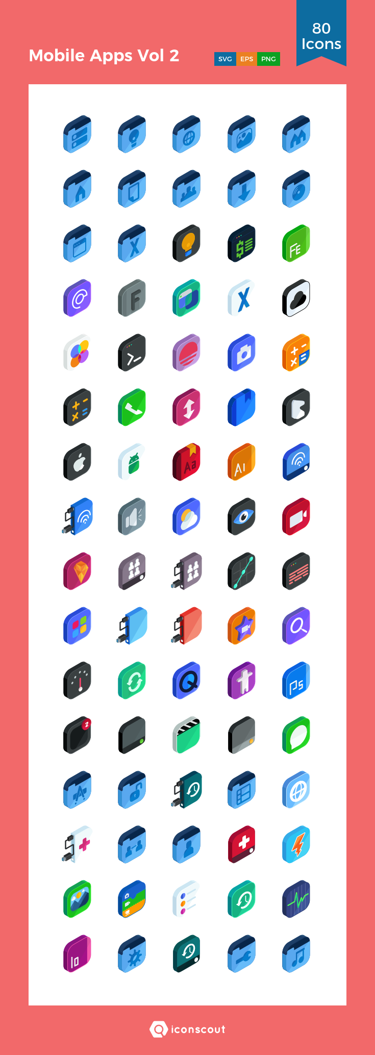 Download Download Mobile Apps Vol 2 Icon pack - Available in SVG ...