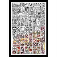 Design Works™ Zenbroidery™ Cubist Picture Stamped Embroidery