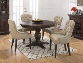 Dining Room Table Round Seats 8 Stunning Jofran Geneva Hills Round To Oval Table With Pedestal Base 2018