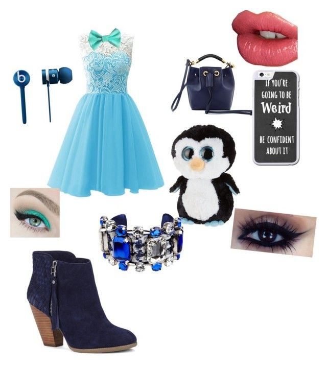 """Mr.penguin"" by themazerunnerfangirl on Polyvore featuring interior, interiors, interior design, home, home decor, interior decorating, Sole Society, Chloé, Beats by Dr. Dre and Ty"