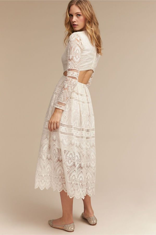 Fallon Dress   Long Sleeve Wedding Dresses   Pinterest   Short ...
