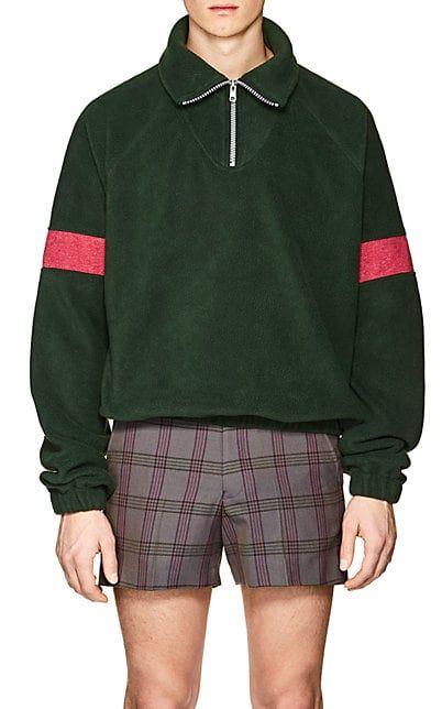 257e3b308320 Gosha Rubchinskiy Quarter-Zip Fleece Pullover - Tops - 505531112 ...