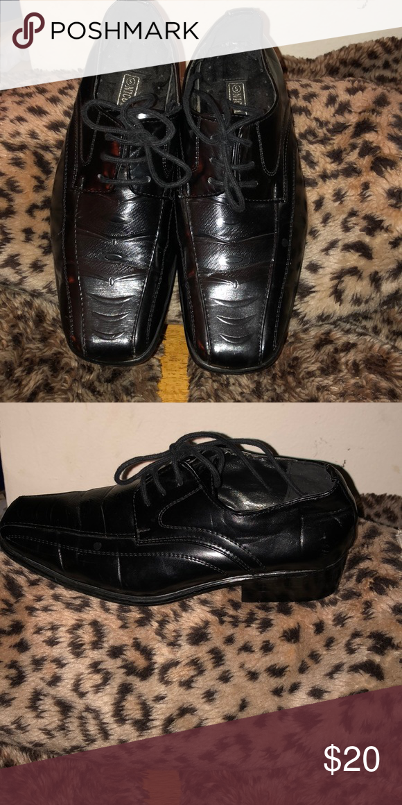 Boys dress shoes Beautiful Black boys