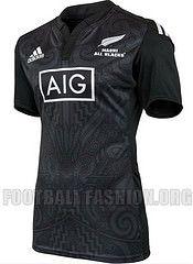 64ad441100a New Zealand Maori All Blacks 2014 2015 adidas Rugby Jersey, Shirt, Kit