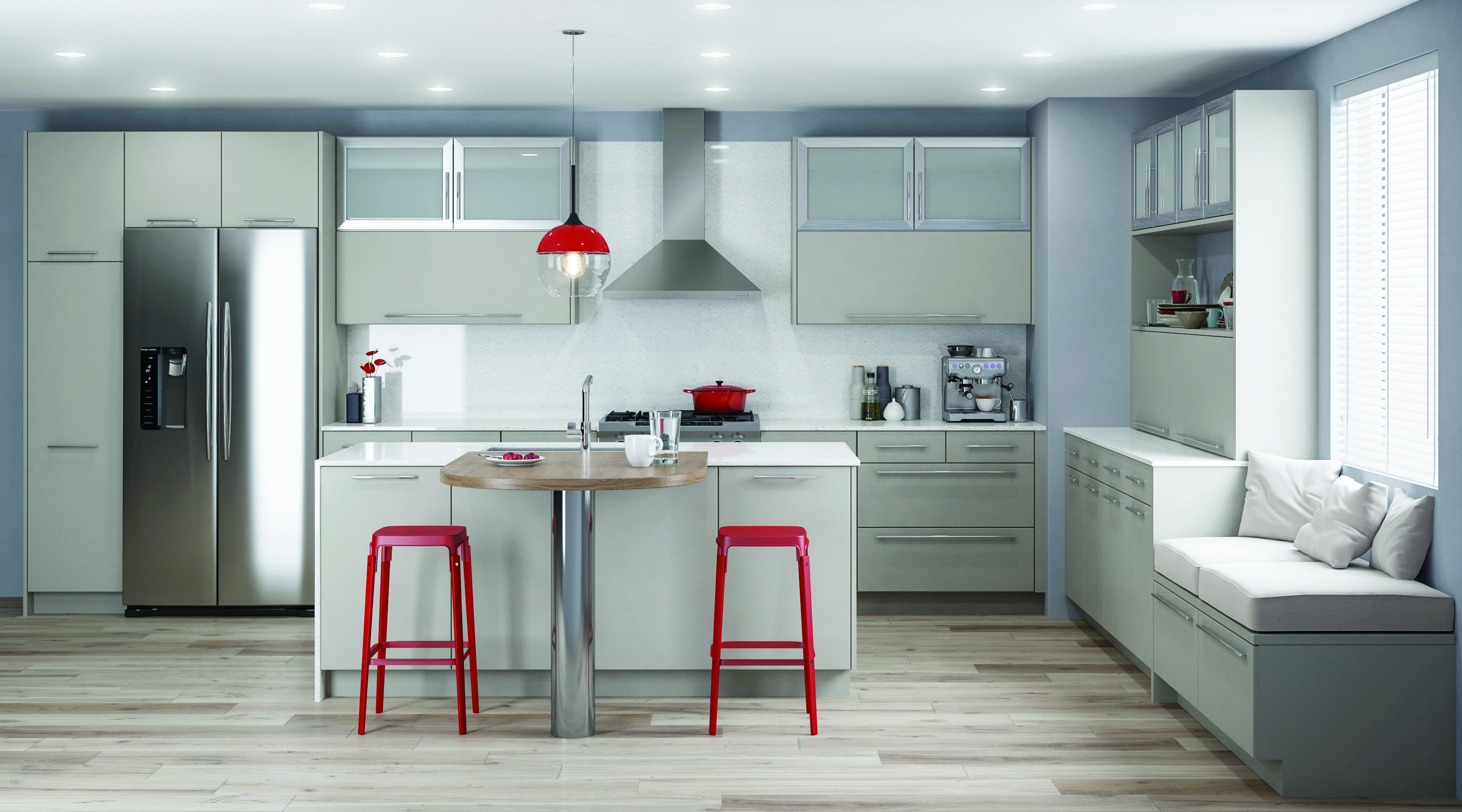 VERVE | Greige Paint | Kitchen cabinets, Bathroom cabinets ...