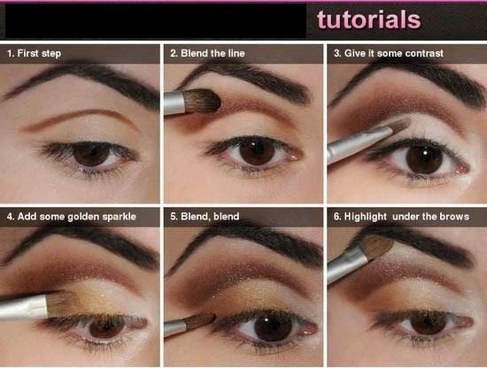 eyeshadow styles step by step eyeshadow tutorial for beginners - Halloween Makeup For Beginners