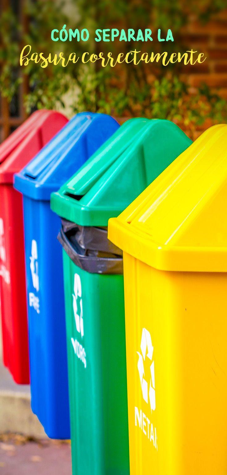 La Separacion De Los Residuos En Organico E Inorganico Tiene Muchos Beneficios Incrementa El Acopio Separacion De Basura Como Reciclar La Basura Separar Basura