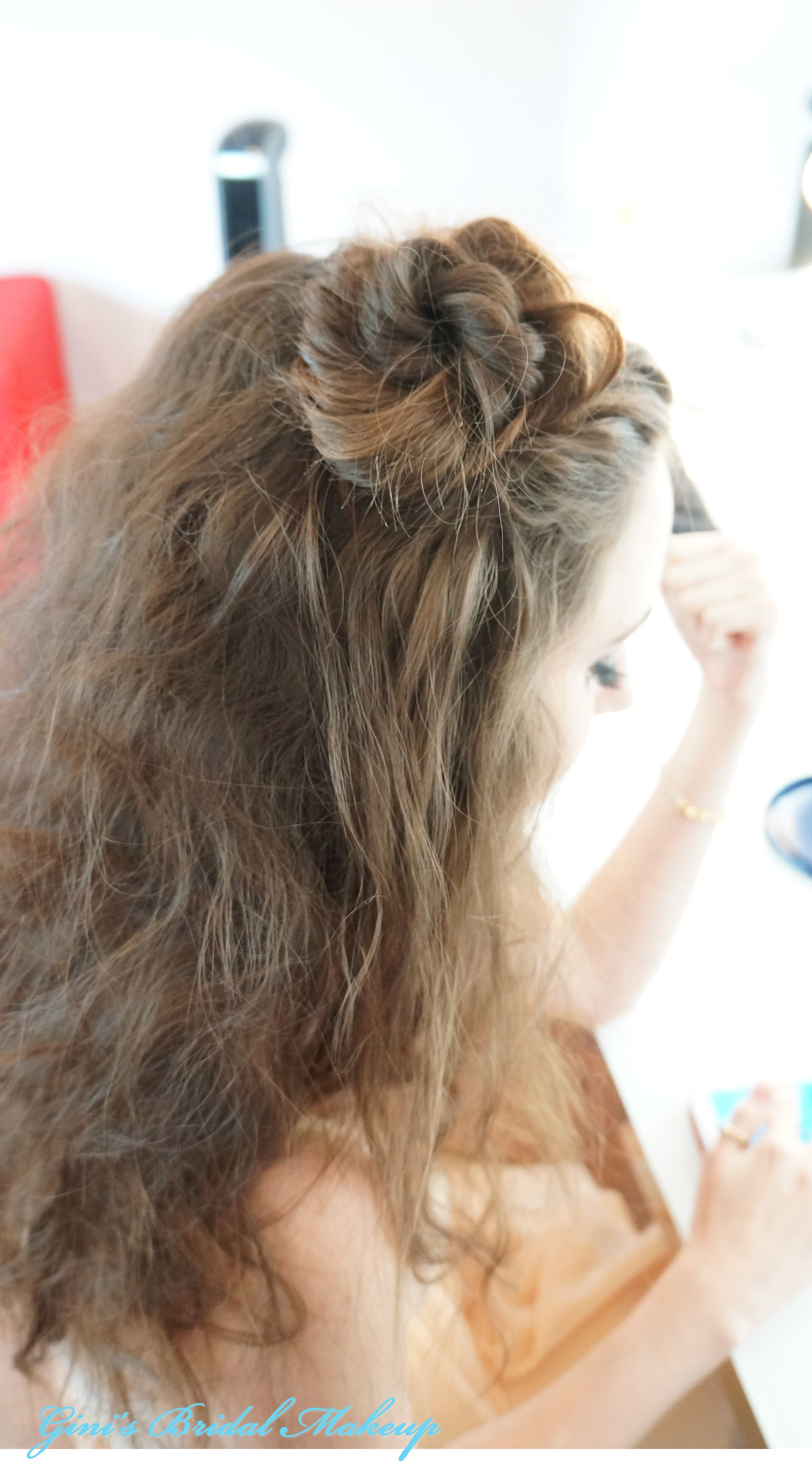 Personal hair design makeuphair by ginius bridal makeup
