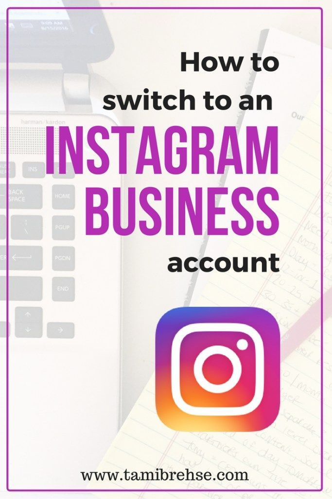 Have you switched to an Instagram for Business account? Here's how to do it, and why it's a good thing for your small business or brand.