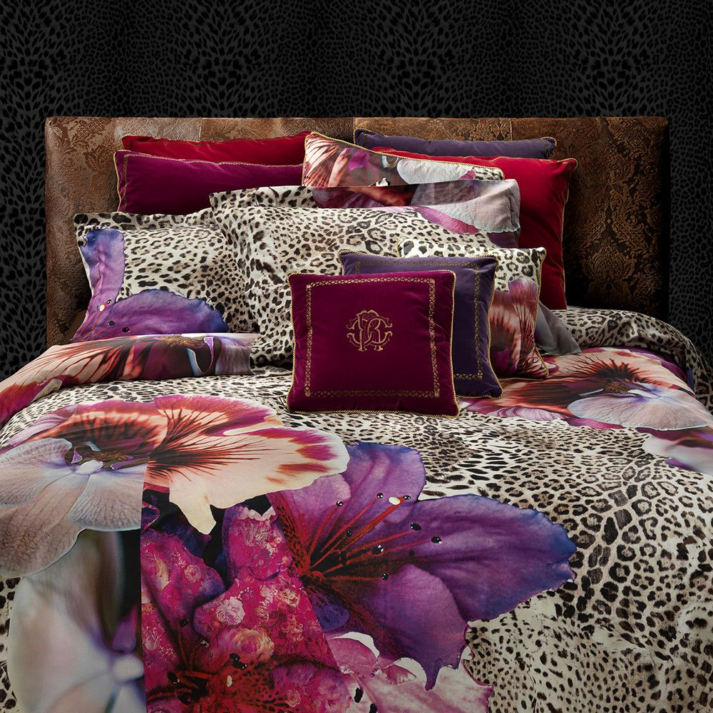 Discover the Roberto Cavalli Orchidee Duvet Set 001