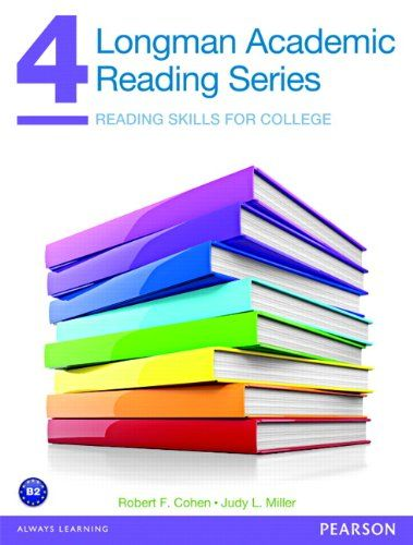 Read Longman Academic Reading Series 4 Reading Skills For College