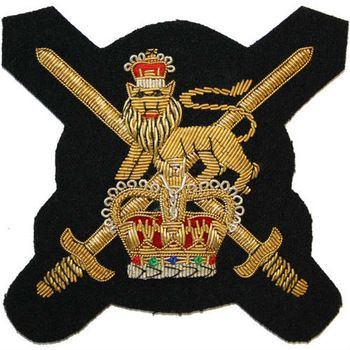 Crests and Badges Hand Embroidered Bullion Wire Blazer, Premium ...