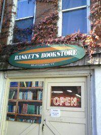 Baskets Bookstore ~ Brattleboro, Vermont