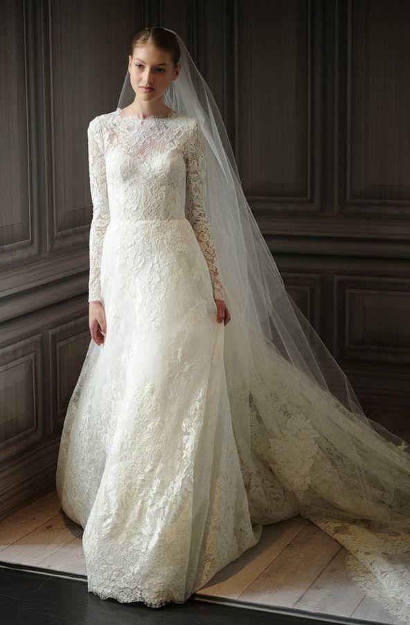 Long Sleeve Wedding Dresses Vera