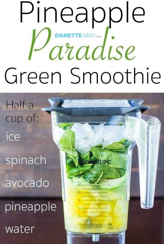 paradise green smoothie recipe smoothies pinterest boisson alimentation saine et aliments. Black Bedroom Furniture Sets. Home Design Ideas