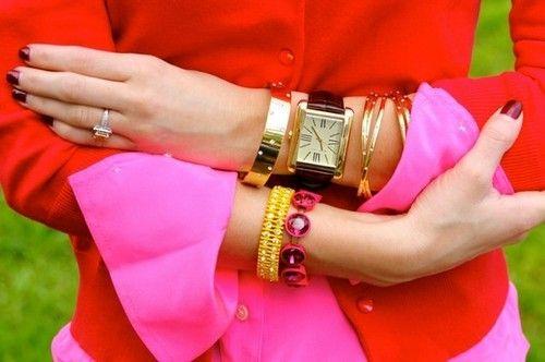 Be bold. Essa combinação de cores fortes é ousadia na dose certa!