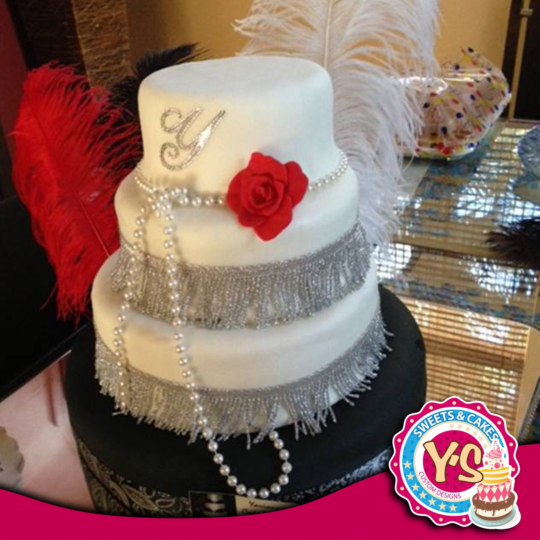 The Great Gatsby Inspired Cake!!