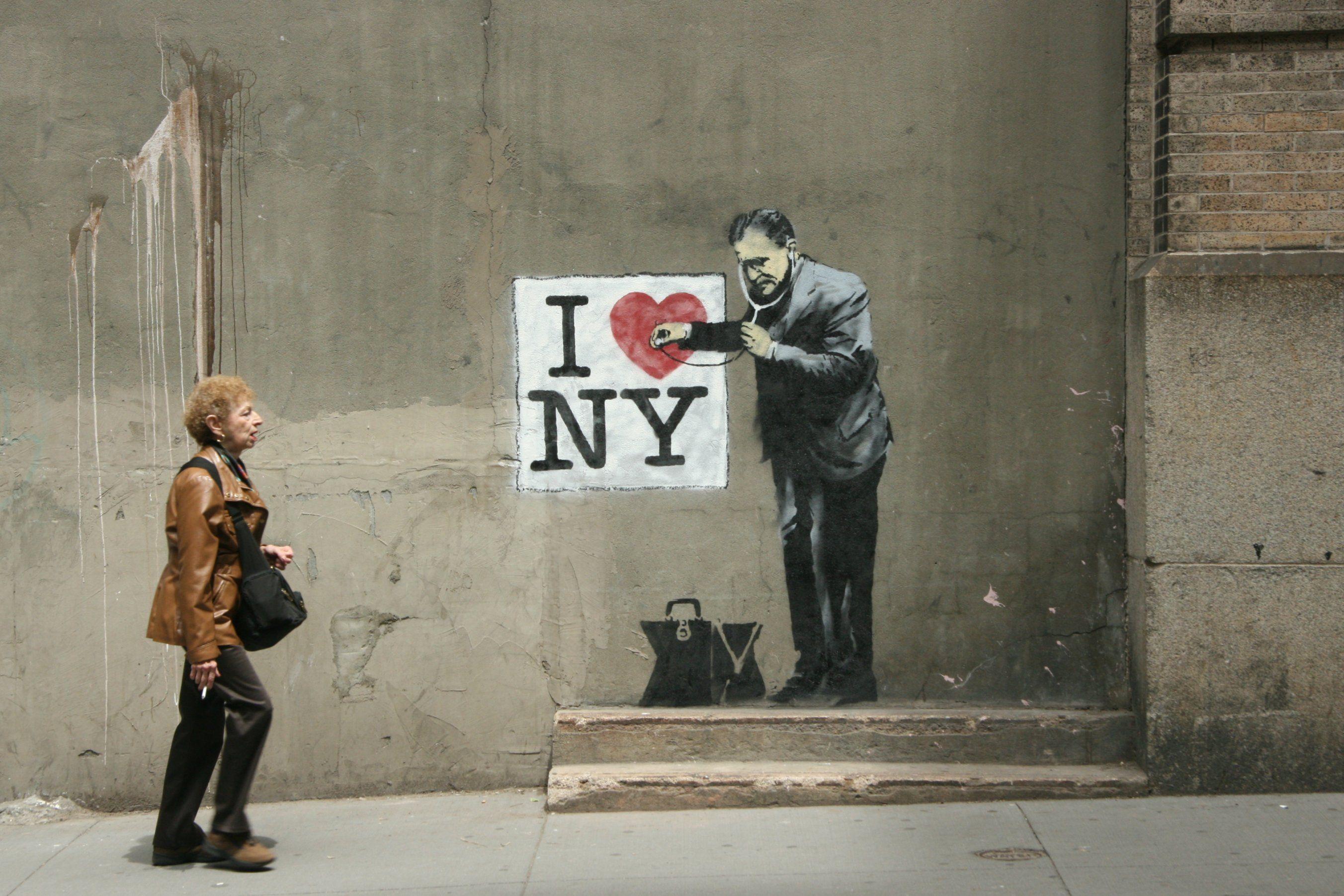 Banksy Banksy art, Street art banksy