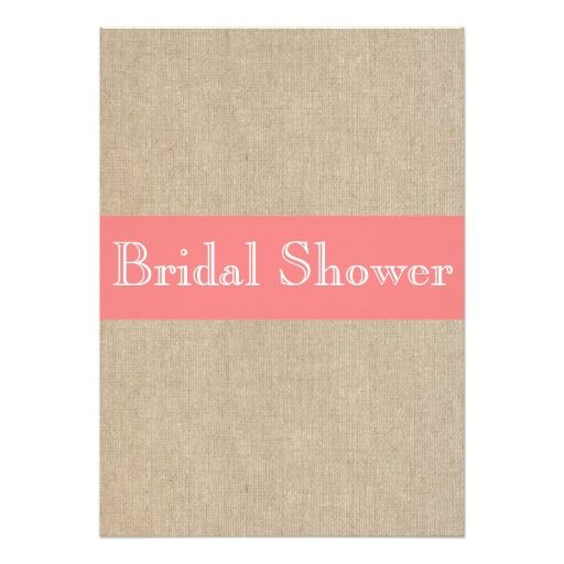 Deals Vintage Coral Burlap Bridal Shower Invitation so please read the important details before your purchasing anyway here is the best buy