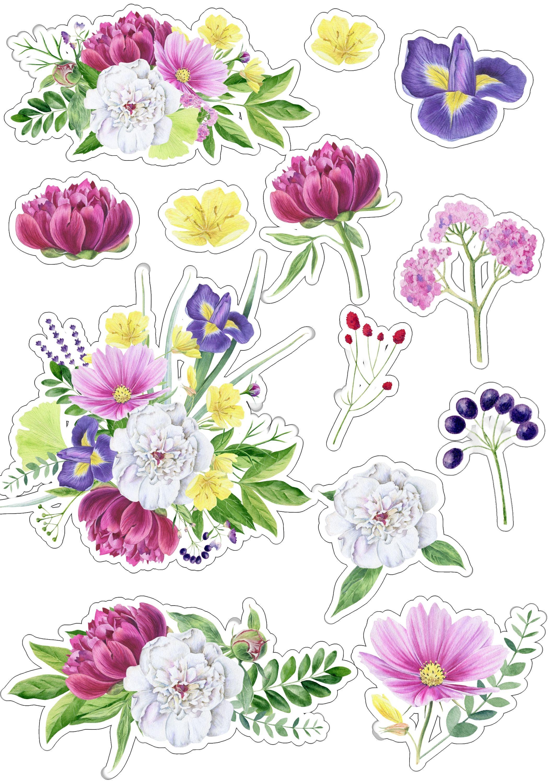 цветные картинки цветов для печати на принтере смотрю эти шедевры