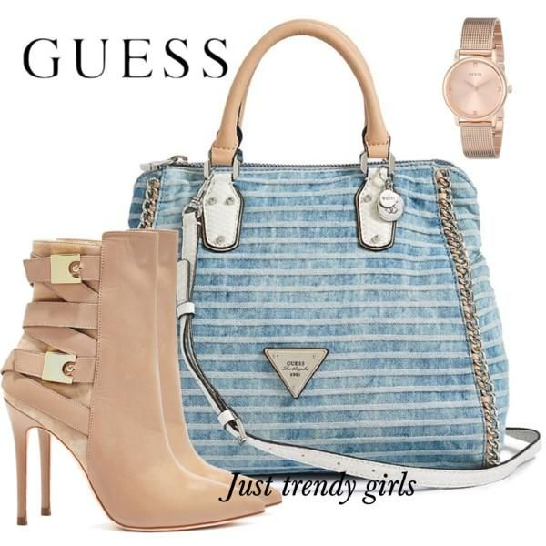 Guess Handbags And Shoes Collection