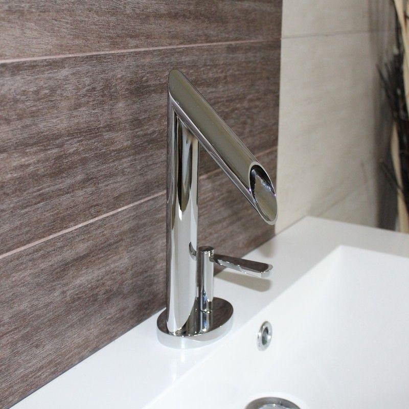 Robinet Mitigeur Design pour lavabo et vasque Chromé Zen