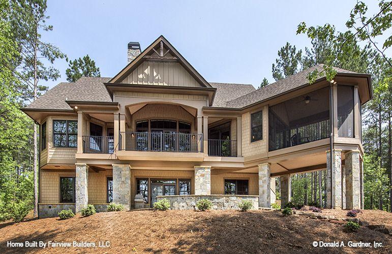The Butler Ridge House Plan - Rear Exterior
