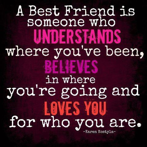 Positive Inspirational Quotes: A best friend is someone who