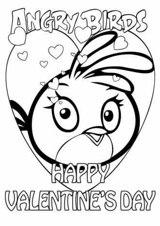 Злые Птицы онлайн бесплатно / Картинки-раскраски ...