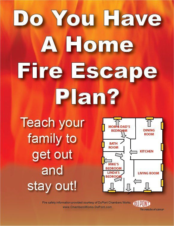 Fire prevention for kids home fire escape planner for Fire prevention tips for home