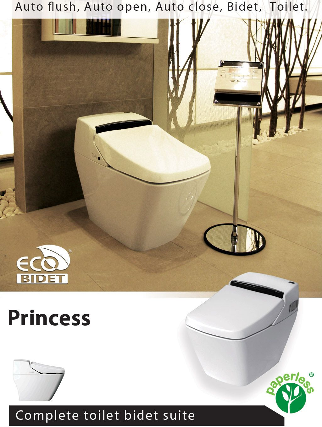 Incredible The Eco Bidet Princess Prince Are The Ultimate Toilet Pdpeps Interior Chair Design Pdpepsorg