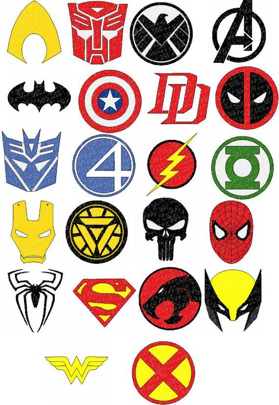 Super Hero Logos Embroidery Designs Etsy In 2021 Hero Logo Embroidery Logo Embroidery Designs