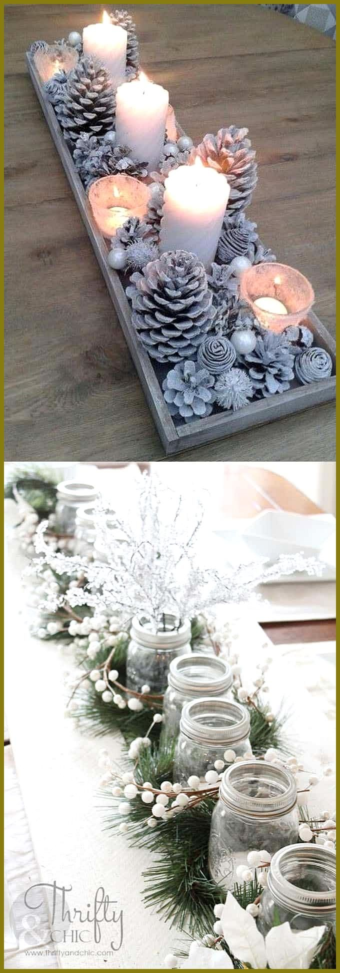 27 Gorgeous DIY Thanksgiving 038 Christmas Table Decorations 038 Centerpieces 27 gorgeous 038 easy