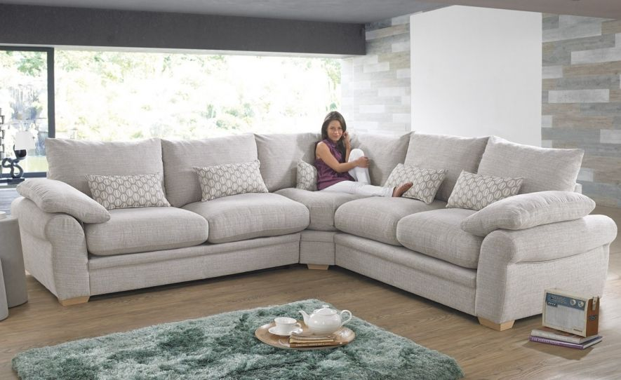 Corner Sofas And Corner Sofa Beds Fabric Leather Corner Groups