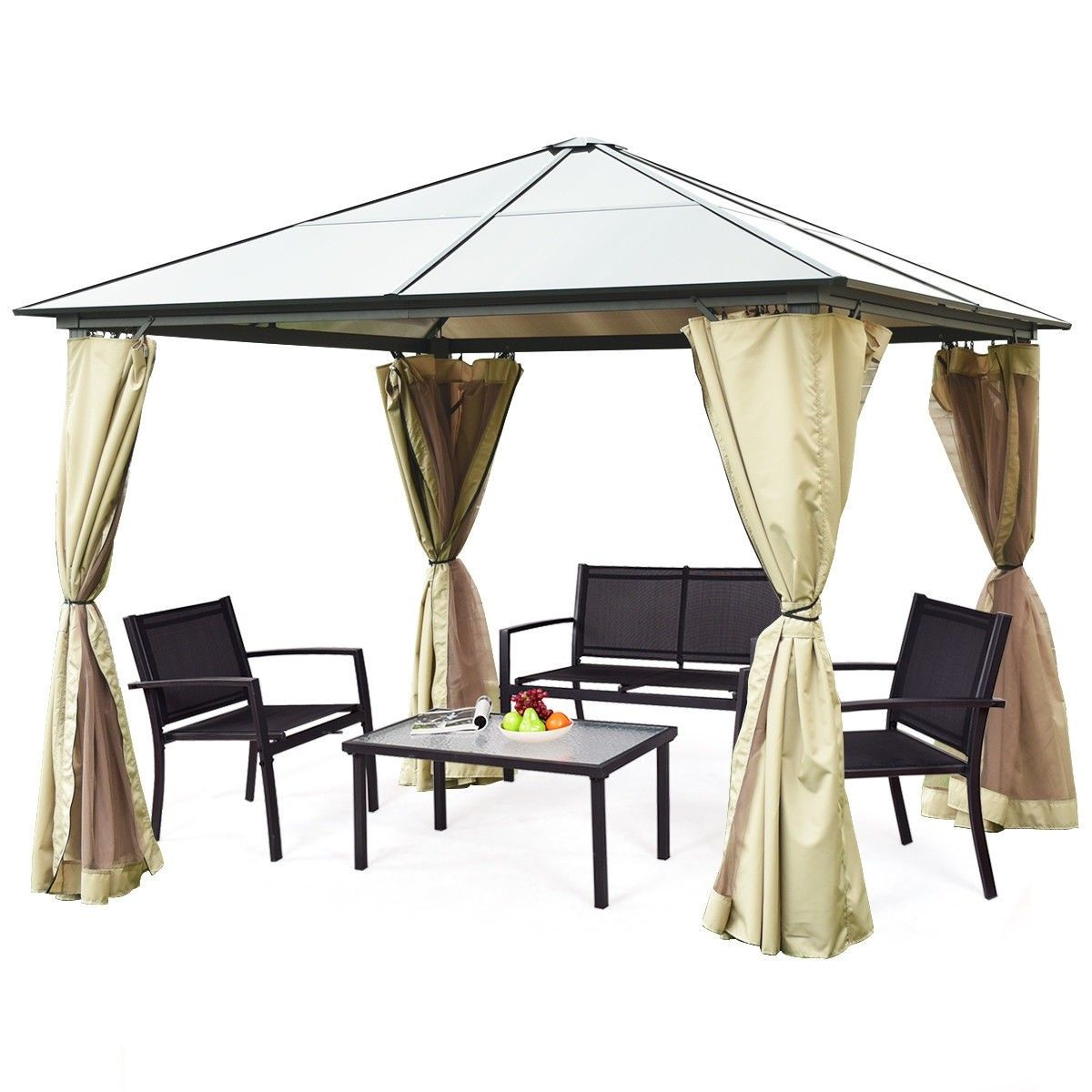 13 X 10 Gazebo Canopy Shelter Patio Party Tent Gazebo Canopy Gazebo Canopy Shelter