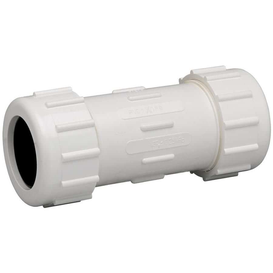 Homewerks Worldwide 3 4 In X 3 4 In Dia X 2 1 2 In L Coupling Pvc Fitting Lowes Com In 2020 Pvc Fittings Pvc Pvc Coupling