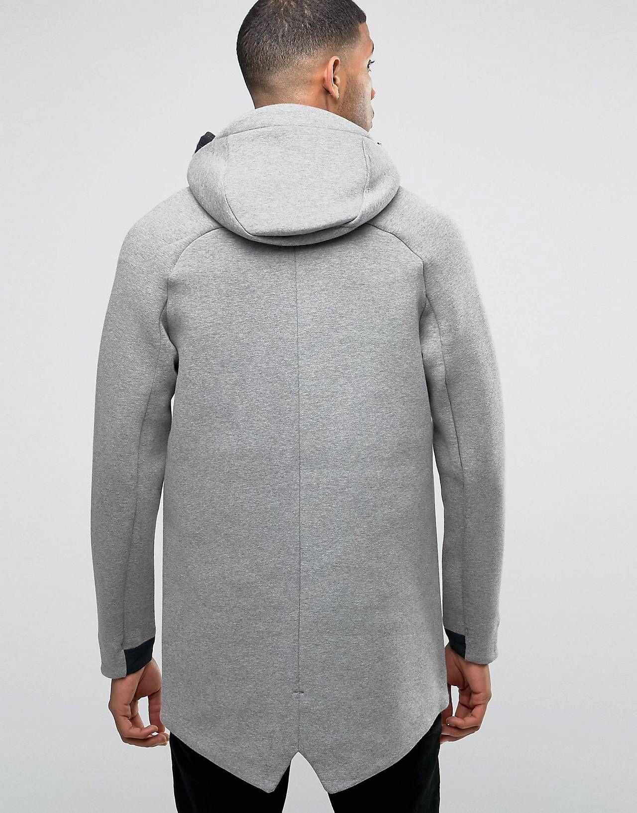 Nike En Technique 805142 Polaire 3m Bandes Veste Avec 091 Longue qqfBFavWw