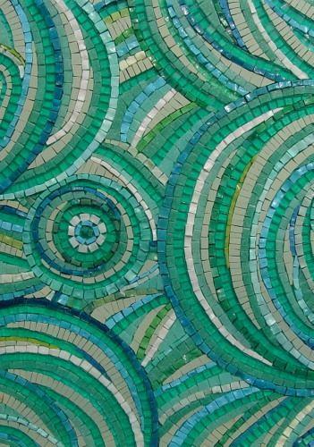 MEDITERRANEAN DAYDREAMS £350  Sue Kershaw  Mosaic Artist (York, UK)  www.mosaicart.org.uk