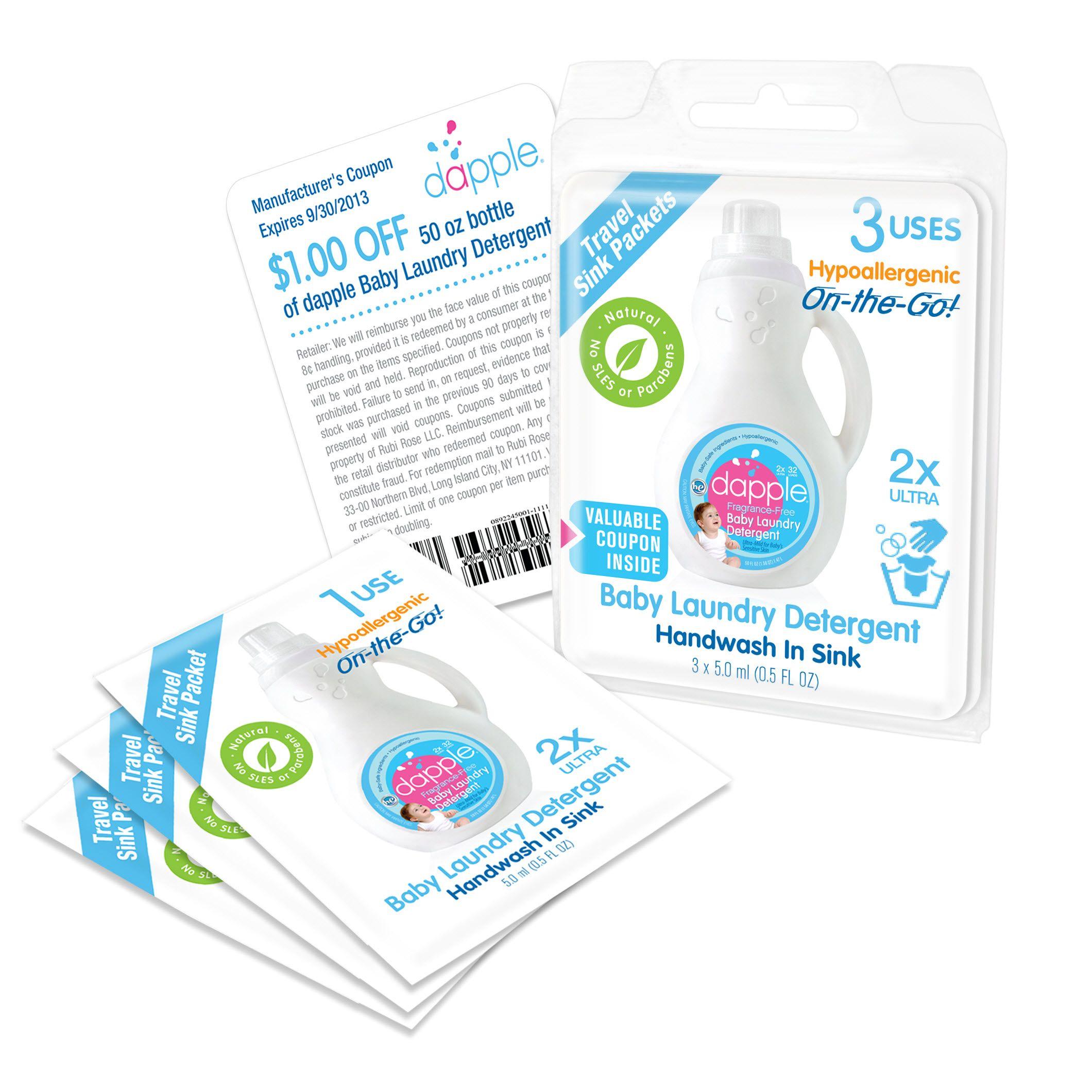 Handwash In Sink Fragrance Free Baby Laundry Detergent Dapple