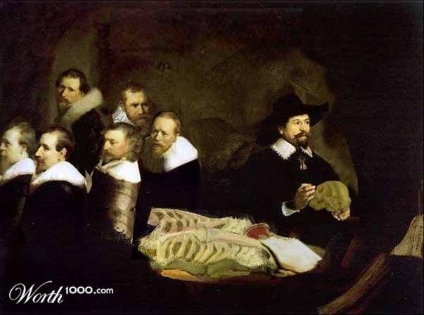 La Autopsia en el Arte: REMBRANDT VAN RIJN (1606-1669) Lección de ...