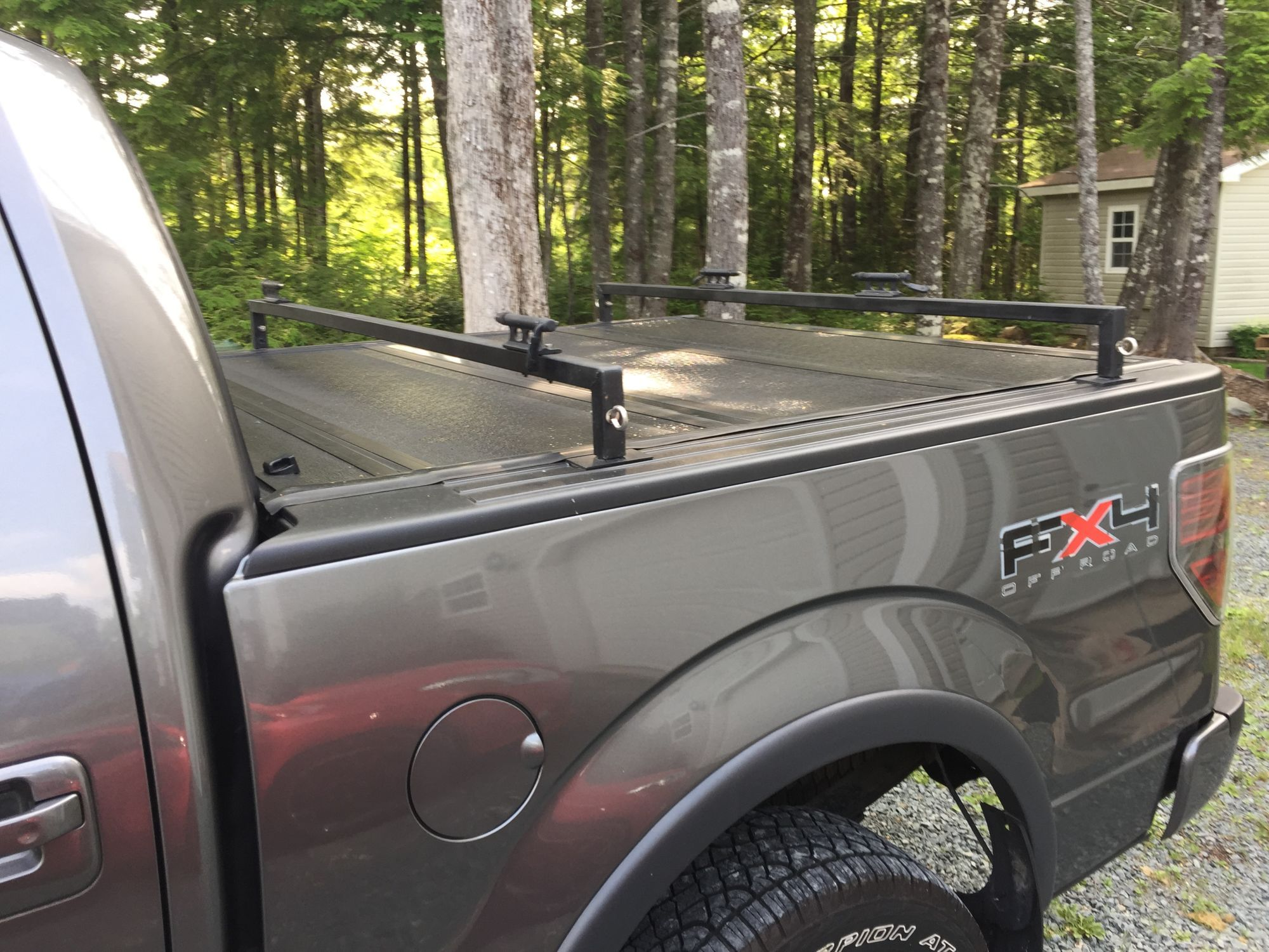 Help Bakflip G2 Or Any Folding Cover With Bike Rack