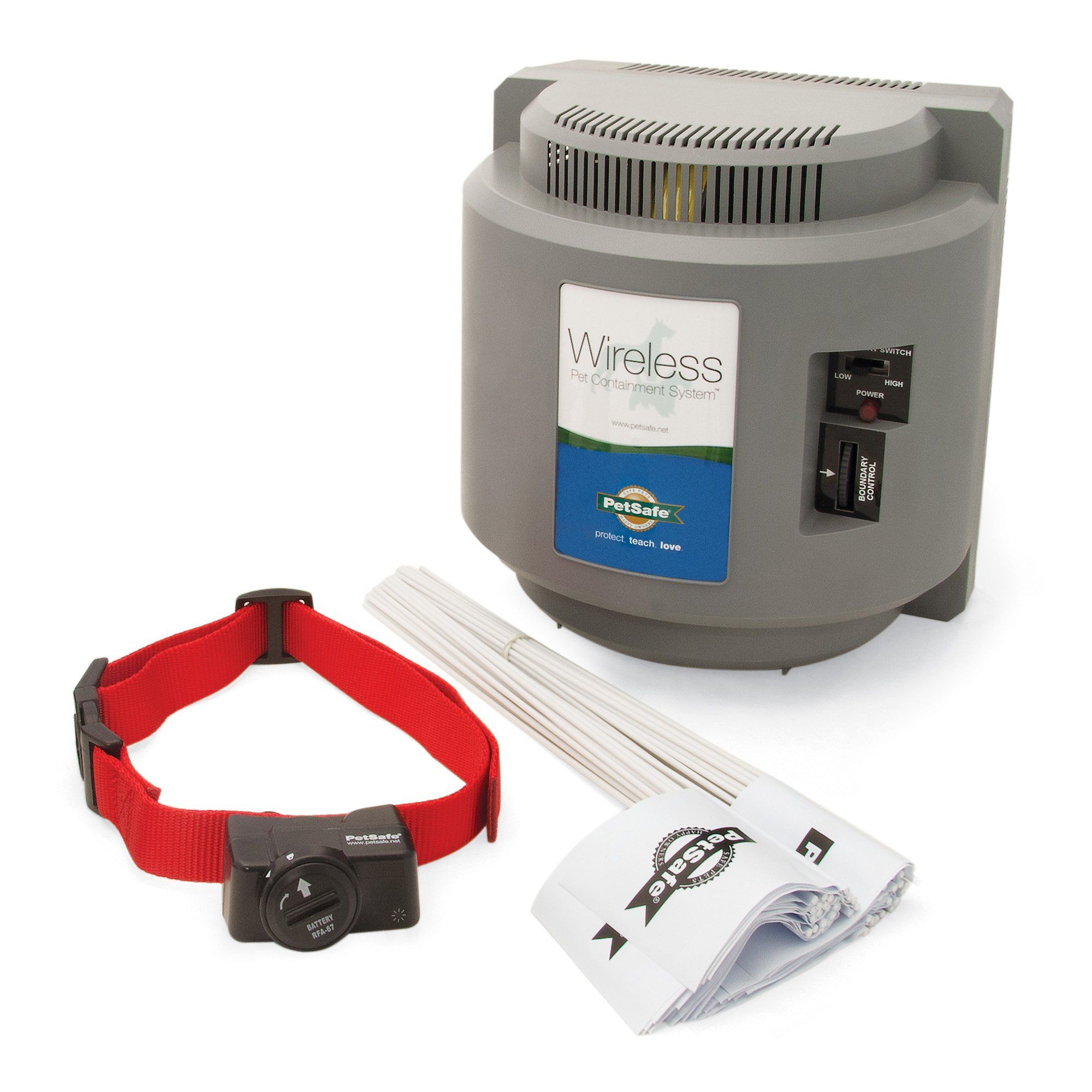 PetSafe Wireless Fence Pet Containment System Covers up to