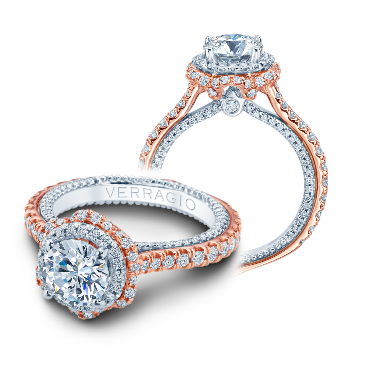 dress - Engagement Verragio rings: the couture collection pictures video