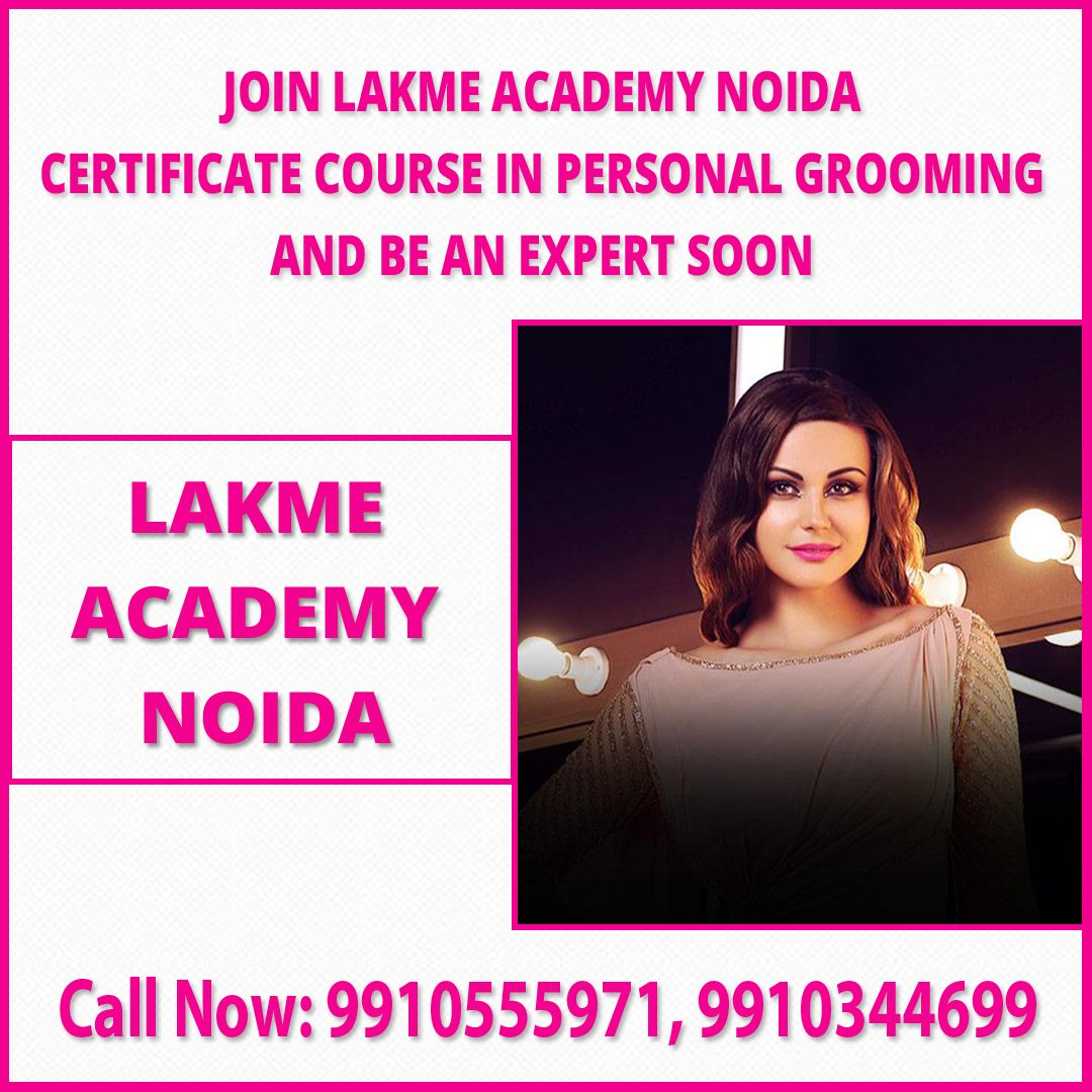 Makeup Academy in Noida  Join Lakme Academy certificate