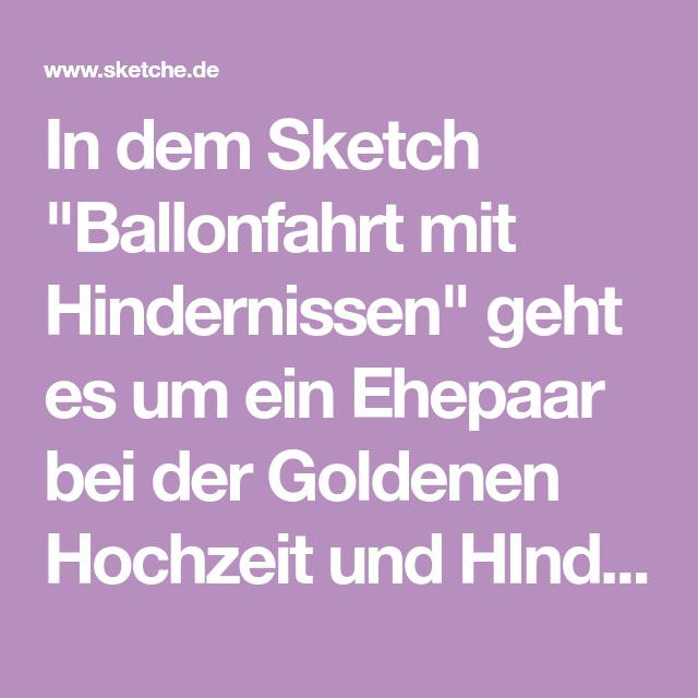 goldene hochzeit sketch