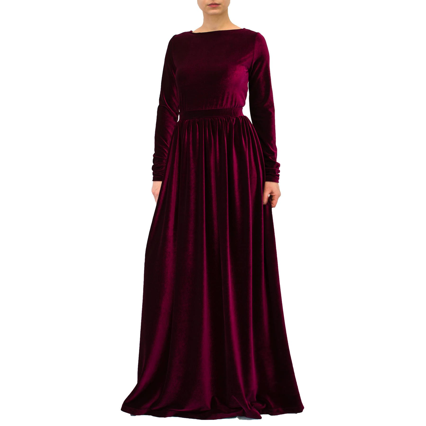 3a872330286 Our new VELVET FAIRY maxi dress in mesmerizing Burgundy color is perfect  for your Christmas!