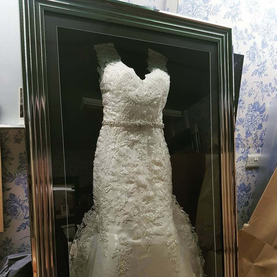 Pin by The Beautiful Frame Company on Framed Wedding Dress ...