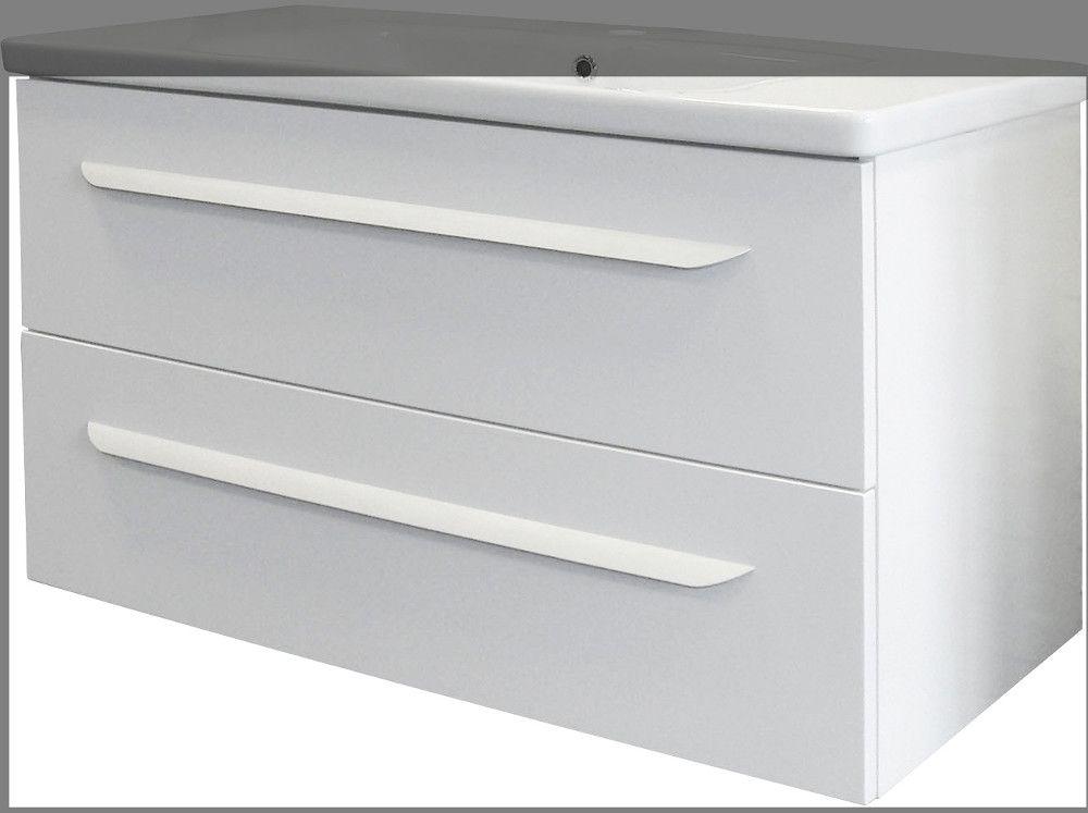 Fackelmann Lavella WTU 100 Weiß Jetzt bestellen unter   - spiegelschrank badezimmer günstig